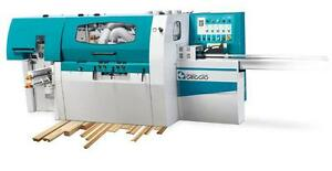Griggio G 230 5u Automatic Moulder Planner With 5 Shafts Ce Standards