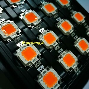 10w 10 Watt Full Spectrum Led Chip 380nm 840nm Plant Grow Lights 10pcs