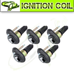 Set Of 5 Brand New Ignition Coil For Buick Rainier Chevy Colorado Gmc Canyon