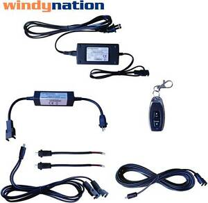 Windynation Linear Actuator Dc Motor Power Supply Dpdt Remote Control