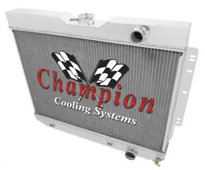 1959 60 1964 65 Chevy El Camino Champion 3 Row Core Alum Radiator