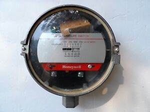 Honeywell 0 26 Of Water Rev B Gas Pressure Switch 173h