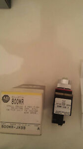Allen Bradley Small Round 3 Position Selector Switch 800mr jx9b New In Box