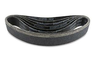 2 X 48 Inch 24 Grit Silicon Carbide Sanding Belts 6 Pack