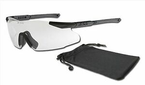 Ess Ice One Professional Shooting Safety Ballistic Glasses Clear Brand New