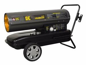 Be Pressure 125 000 Btu Kerosene diesel Forced Air Heater Hk125fw