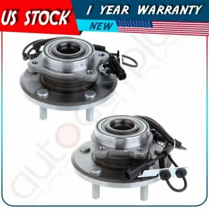 Set Of 2 Front Wheel Bearing And Hub Assembly For 08 10 Chrysler Town
