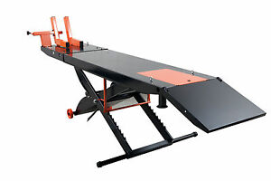 Apluslift Mt1500 Air Op 1 500lb Motorcycle Atv Lift Table 24 Wide No Side Ex