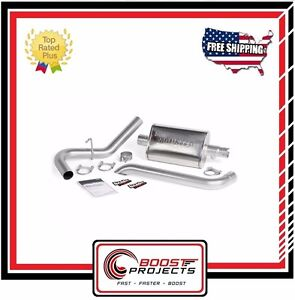 Banks Power Monster Exhaust System Single For 87 01 Jeep Cherokee 4 0l Xj 51360