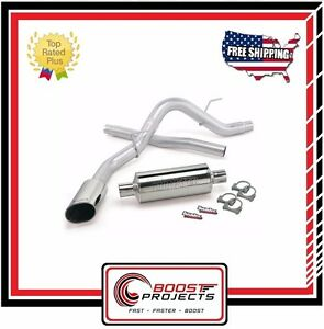 Banks Power Monster Exhaust System Ford F 150 3 5 5 0 6 2l 2011 2014 48761