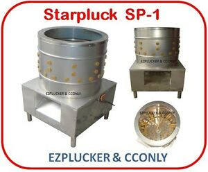 New Starpluck Sp 1 Chicken Plucker De feather Machine Stainless Steel
