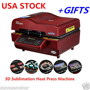 Us Stock 110v Freesub 3d Sublimation Mugs Cup Heat Press Transfer Machine gifts