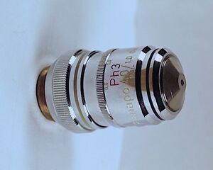 Zeiss Planapo Apo 40x 1 0 Oil Ph3 Phase Contrast 160mm Tl Microscope Objective