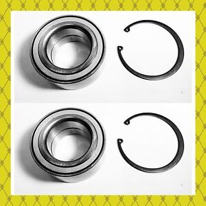 Rear Wheel Hub Bearing W Snap Ring For Acura Mdx 2003 2006 Pair