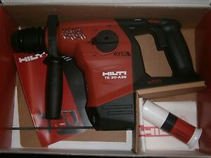 Hilti Te 30 a36 36v Cordless Combihammer Tool Only