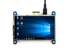 Waveshare Raspberry Pi 4inch Hdmi Lcd 800 480 Resistive Touch Lcd Display