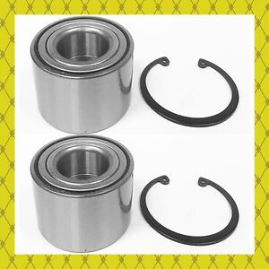 Rear Wheel Bearing W Snap Ring For Nissan Versa 2012 2016 Pair Fast Shipping