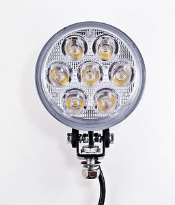 4 5 Inch 7 Led Round Work Spot Light 21w Off Road Jeep Truck 4x4 Lamp Qty 2