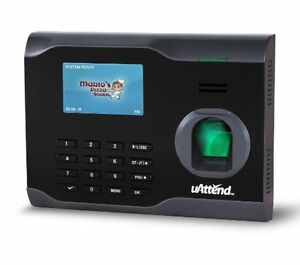 Uattend Bn6500 Wi fi Biometric Fingerprint Time Clock