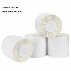 450 roll 4x6 Direct Thermal Shipping Postage Labels Zebra Zp450 505 2844 Eltron