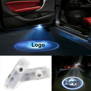 2pcs Led Laser Projector Bmw Logo Step Door Courtesy Welcome Light Ghost Shadow