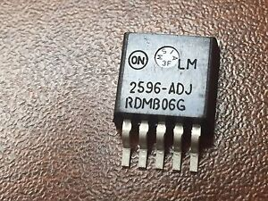 Semiconductor Buck Boost Buck boost Switching Regulator Lm2596dsadjg Lot 50