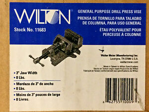 Wilton 11683 3 inch Drill Press Vise