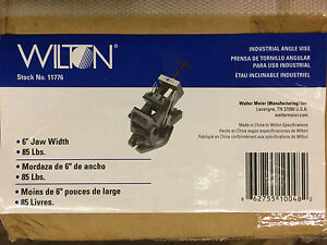 Wilton 11776 6 inch Industrial Angle Vise