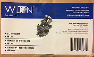 Wilton 11774 4 inch Industrial Angle Vise