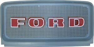C9nn8a163ag Upper Front Grille For Ford 2000 3000 4000 5000 Series Tractors