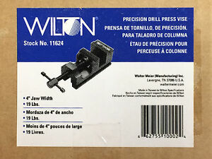 Wilton 11624 4 inch Precision Drill Press Vise