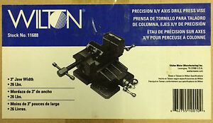 Wilton 11688 3 inch Precision X y Axis Drill Press Vise