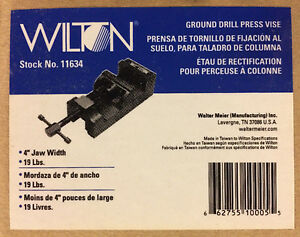 Wilton 11634 4 inch Ground Drill Press Vise