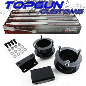 For 94 02 Dodge Ram 1500 2500 3500 4wd 2 Front Lift Kit Shocks W Sway Bar