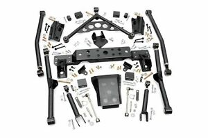 4 Long Arm Upgrade Kit For Jeep Grand Cherokee Wj 1999 2004 Rough Country