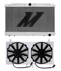 Mishimoto 95 99 Eclipse Gst Gsx Talon Tsi Turbo Aluminum Radiator Fan Shroud Kit