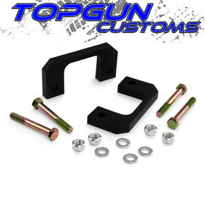 2007 2016 Cadillac Escalade Front 2 Inch Leveling Lift Kit 2wd 4wd Black Delrin