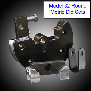 Jd Squared Model 32 Tube Bender Round Metric Tube Die Set