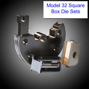 Jd Squared Model 32 Tube Bender Metric Square Box Die Set