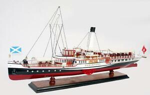 Hohentwiel Paddle Steam Boat Model 29 Handcrafted Wooden Ship Model New