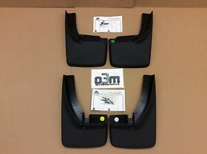 Dodge Ram Front Rear Deluxe Molded Splash Guard Mud Flaps W Fender Flares New