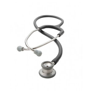 Adc 605bk Adscope Stethoscope Black With Combination Infant Chestpiece Id Tag