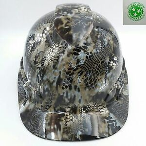 Hard Hat Custom Hydro Dipped New Kryptek Neptune Camo Sick new V Guard