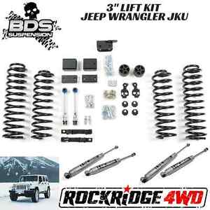 Bds Suspension For Jeep Wrangler Jk 07 11 3 Lift Kit 4 Door 4wd Usa Fixed Links
