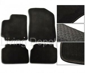 Fit For 2009 2011 Toyota Corolla Floor Mats Carpet Front Rear Nylon Black