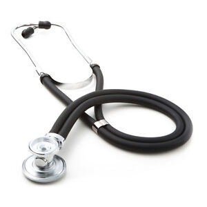 Adc 640bk Sprague Rappaport Type 2 Stethoscope With Threaded Chestpiece Drum