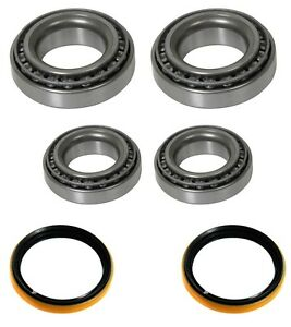 New 1965 1966 Ford Mustang Wheel Bearings Inner And Outer With Seal Set Of 6 Pc