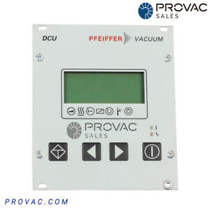 Pfeiffer Dcu 002 Turbo Pump Controller Rebuilt By Provac Sales Inc