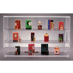 New Acrylic Countertop Showcase With Lock 21 w X 13 h X 7 5 d