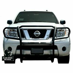 Atu Black Grille Brush Bumper Guard Bull Crash Bar fit 05 2015 Nissan Frontier
